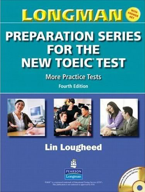 Sách Longman Preparation Series for the New TOEIC Test: More Practice Test
