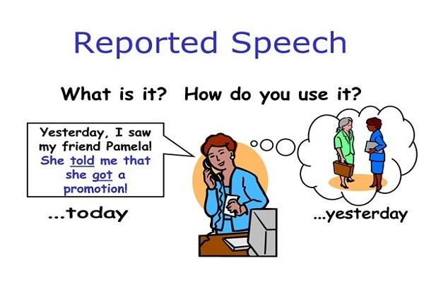 Câu tường thuật trong tiếng Anh