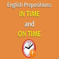 Phân Biệt On time và In time