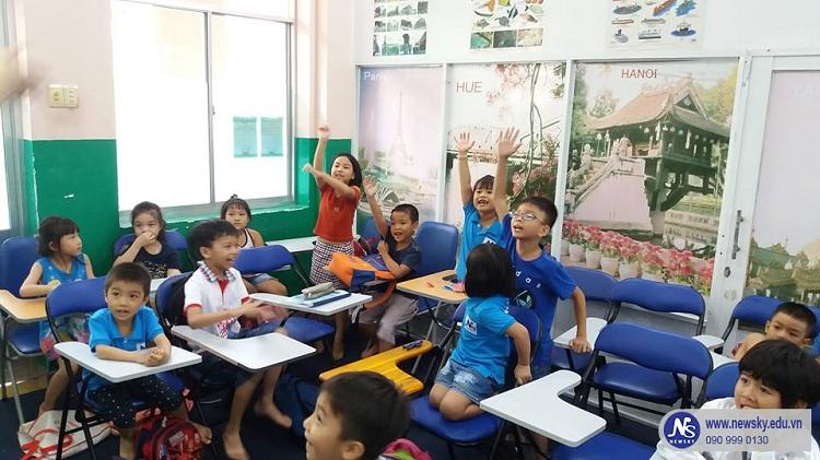 Newsky - trung tâm tiếng Anh cho trẻ em tốt nhất TPHCM