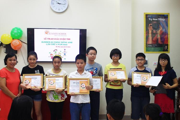Summer school -trung tâm tiếng Anh cho trẻ em tốt nhất Hà Nội